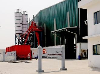 Supertech precast wall plant